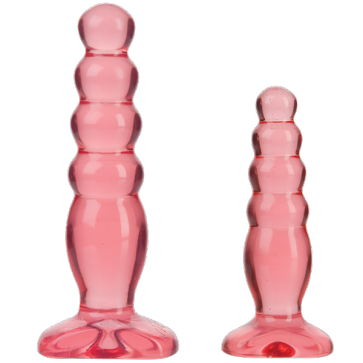 Cunei Anali - Crystal Jellies - Anal Trainer Kit - Pink