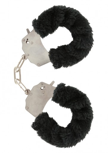 Manette - Furry Fun Cuffs Black