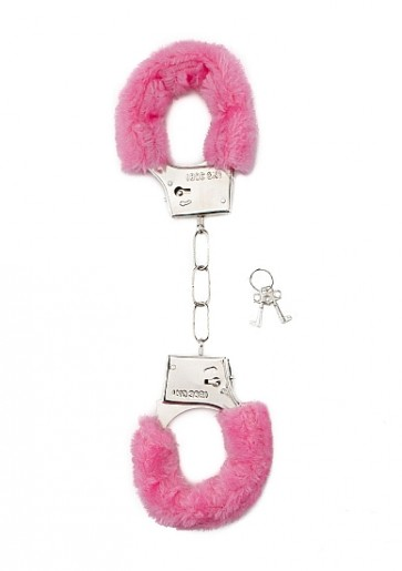 Manette - Furry Handcuffs - Pink