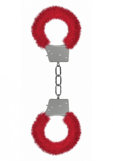 Manette - Beginner's Handcuffs Furry - Red