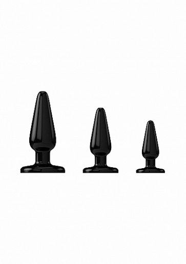 Kit Cunei Anali - Anal Trainers Kit - Black