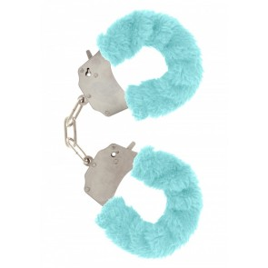 Manette - Furry Fun Cuffs Aqua