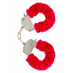 Manette - Furry Fun Cuffs Red