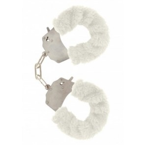 Manette - Furry Fun Cuffs White