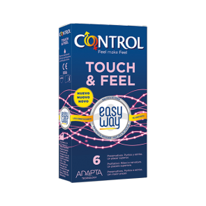 Preservativi - Control Touch & Feel Easy Way (6 pz)
