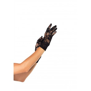 Guanti  - Stretch Lace Wrist Length Gloves OS