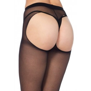 Collant - Sheer Thong Back Pantyhose