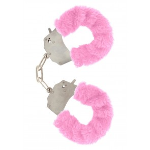 Manette - Furry Fun Cuffs Pink