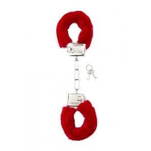 Manette - Furry Handcuffs - Red