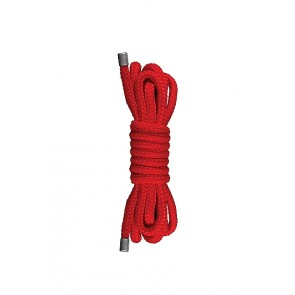 Corda Bondage - Japanese Mini Rope - 1,5m - Red