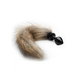 Cuneo Anale - Fox Tail Buttplug - Black