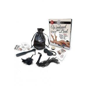 Gioco da Tavola - Weekend In Bed - Game Kit - Black
