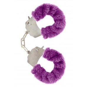 Manette - Furry Fun Cuffs Purple