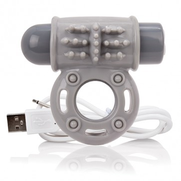 The screaming O - Charged Owow Vibe Ring Grey