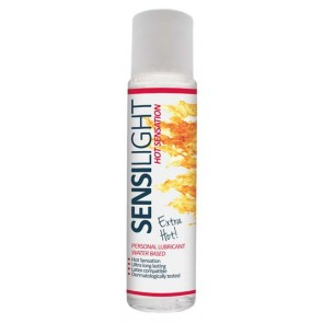 Lubrificante Effetto Caldo - New Sensilight HOT Sensation (60ml)