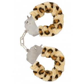 Manette - Furry Fun Cuffs Leopard