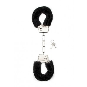 Manette - Furry Handcuffs - Black
