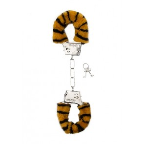 Manette - Furry Handcuffs - Tiger